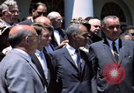 Image of civil rights leaders Washington DC USA, 1963, second 18 stock footage video 65675070908