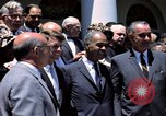 Image of civil rights leaders Washington DC USA, 1963, second 20 stock footage video 65675070908