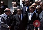 Image of civil rights leaders Washington DC USA, 1963, second 28 stock footage video 65675070908