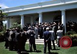 Image of civil rights leaders Washington DC USA, 1963, second 32 stock footage video 65675070908
