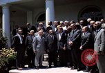 Image of civil rights leaders Washington DC USA, 1963, second 42 stock footage video 65675070908