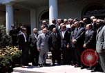 Image of civil rights leaders Washington DC USA, 1963, second 46 stock footage video 65675070908