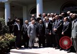 Image of civil rights leaders Washington DC USA, 1963, second 47 stock footage video 65675070908