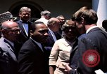 Image of civil rights leaders Washington DC USA, 1963, second 52 stock footage video 65675070908