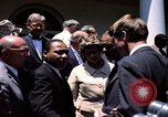 Image of civil rights leaders Washington DC USA, 1963, second 53 stock footage video 65675070908