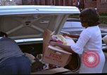 Image of aid to needy after 1968 riots Washington DC USA, 1968, second 14 stock footage video 65675070912