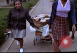 Image of aid to needy after 1968 riots Washington DC USA, 1968, second 16 stock footage video 65675070912