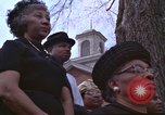 Image of Martin Luther King funeral Atlanta Georgia USA, 1968, second 30 stock footage video 65675070913