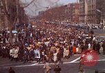 Image of Martin Luther King funeral procession to Morehouse College Atlanta Georgia USA, 1968, second 1 stock footage video 65675070914