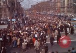 Image of Martin Luther King funeral procession to Morehouse College Atlanta Georgia USA, 1968, second 7 stock footage video 65675070914