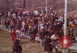 Image of Martin Luther King funeral procession to Morehouse College Atlanta Georgia USA, 1968, second 16 stock footage video 65675070914
