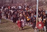 Image of Martin Luther King funeral procession to Morehouse College Atlanta Georgia USA, 1968, second 19 stock footage video 65675070914