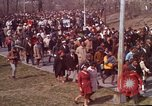 Image of Martin Luther King funeral procession to Morehouse College Atlanta Georgia USA, 1968, second 20 stock footage video 65675070914