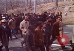 Image of Martin Luther King funeral procession to Morehouse College Atlanta Georgia USA, 1968, second 23 stock footage video 65675070914