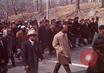 Image of Martin Luther King funeral procession to Morehouse College Atlanta Georgia USA, 1968, second 24 stock footage video 65675070914