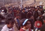 Image of Martin Luther King funeral procession to Morehouse College Atlanta Georgia USA, 1968, second 27 stock footage video 65675070914