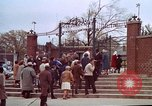 Image of Martin Luther King funeral procession to Morehouse College Atlanta Georgia USA, 1968, second 32 stock footage video 65675070914