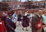 Image of Martin Luther King funeral procession to Morehouse College Atlanta Georgia USA, 1968, second 34 stock footage video 65675070914