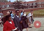 Image of Martin Luther King funeral procession to Morehouse College Atlanta Georgia USA, 1968, second 35 stock footage video 65675070914