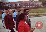 Image of Martin Luther King funeral procession to Morehouse College Atlanta Georgia USA, 1968, second 36 stock footage video 65675070914