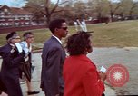 Image of Martin Luther King funeral procession to Morehouse College Atlanta Georgia USA, 1968, second 37 stock footage video 65675070914
