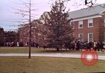 Image of Martin Luther King funeral procession to Morehouse College Atlanta Georgia USA, 1968, second 40 stock footage video 65675070914