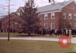Image of Martin Luther King funeral procession to Morehouse College Atlanta Georgia USA, 1968, second 41 stock footage video 65675070914