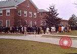 Image of Martin Luther King funeral procession to Morehouse College Atlanta Georgia USA, 1968, second 44 stock footage video 65675070914