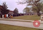 Image of Martin Luther King funeral procession to Morehouse College Atlanta Georgia USA, 1968, second 47 stock footage video 65675070914