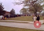 Image of Martin Luther King funeral procession to Morehouse College Atlanta Georgia USA, 1968, second 49 stock footage video 65675070914