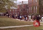 Image of Martin Luther King funeral procession to Morehouse College Atlanta Georgia USA, 1968, second 51 stock footage video 65675070914