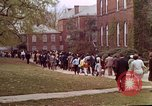 Image of Martin Luther King funeral procession to Morehouse College Atlanta Georgia USA, 1968, second 52 stock footage video 65675070914