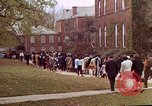 Image of Martin Luther King funeral procession to Morehouse College Atlanta Georgia USA, 1968, second 53 stock footage video 65675070914