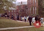 Image of Martin Luther King funeral procession to Morehouse College Atlanta Georgia USA, 1968, second 54 stock footage video 65675070914
