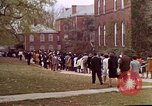 Image of Martin Luther King funeral procession to Morehouse College Atlanta Georgia USA, 1968, second 55 stock footage video 65675070914