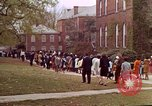 Image of Martin Luther King funeral procession to Morehouse College Atlanta Georgia USA, 1968, second 56 stock footage video 65675070914