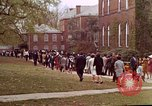 Image of Martin Luther King funeral procession to Morehouse College Atlanta Georgia USA, 1968, second 57 stock footage video 65675070914