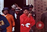 Image of Martin Luther King funeral procession to Morehouse College Atlanta Georgia USA, 1968, second 59 stock footage video 65675070914