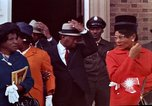 Image of Martin Luther King funeral procession to Morehouse College Atlanta Georgia USA, 1968, second 60 stock footage video 65675070914