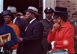Image of Martin Luther King funeral procession to Morehouse College Atlanta Georgia USA, 1968, second 62 stock footage video 65675070914