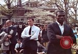 Image of faces of Martin Luther King funeral mourners Atlanta Georgia USA, 1968, second 16 stock footage video 65675070915