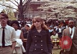 Image of faces of Martin Luther King funeral mourners Atlanta Georgia USA, 1968, second 26 stock footage video 65675070915