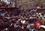 Image of faces of Martin Luther King funeral mourners Atlanta Georgia USA, 1968, second 34 stock footage video 65675070915