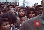Image of faces of Martin Luther King funeral mourners Atlanta Georgia USA, 1968, second 43 stock footage video 65675070915