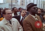 Image of faces of Martin Luther King funeral mourners Atlanta Georgia USA, 1968, second 46 stock footage video 65675070915