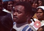 Image of faces of Martin Luther King funeral mourners Atlanta Georgia USA, 1968, second 52 stock footage video 65675070915