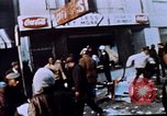 Image of looting of Wolfe Bros. furniture store during riots Washington DC USA, 1968, second 4 stock footage video 65675070916