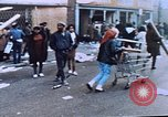 Image of looting of Wolfe Bros. furniture store during riots Washington DC USA, 1968, second 25 stock footage video 65675070916