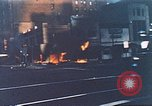 Image of burning building in riot after death of Martin Luther King Jr Washington DC USA, 1968, second 2 stock footage video 65675070919