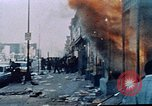 Image of burning building in riot after death of Martin Luther King Jr Washington DC USA, 1968, second 20 stock footage video 65675070919